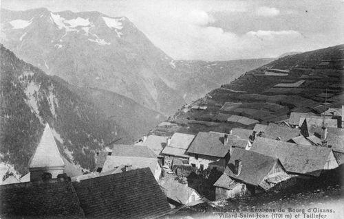 Carte postale ancienne-le village